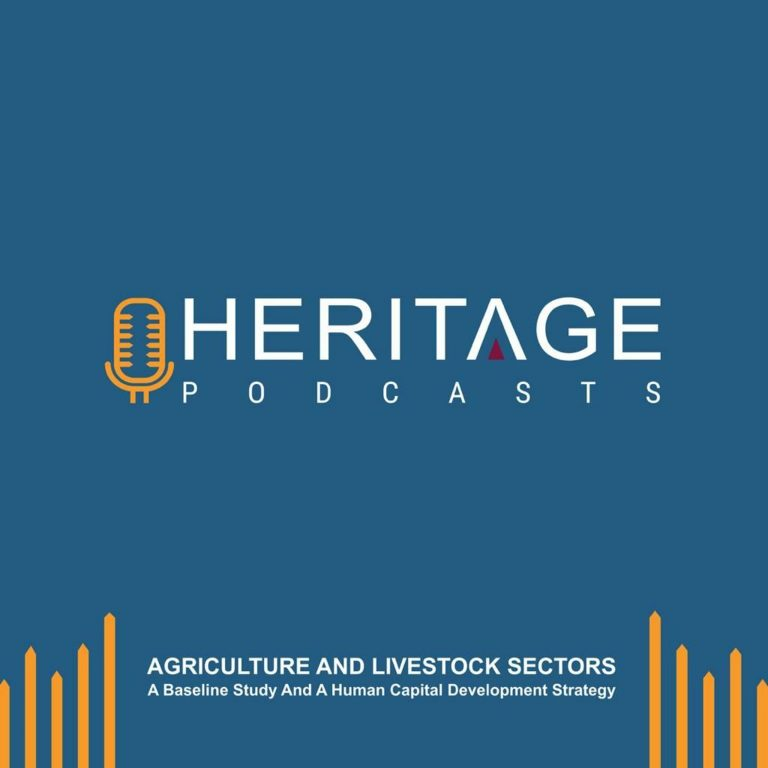Heritage Podcast: Study on Somalia's Agriculture and Livestock Sectors